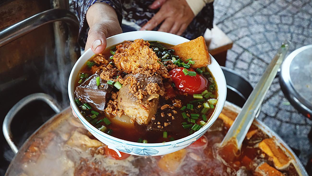 Vietnam noodle food