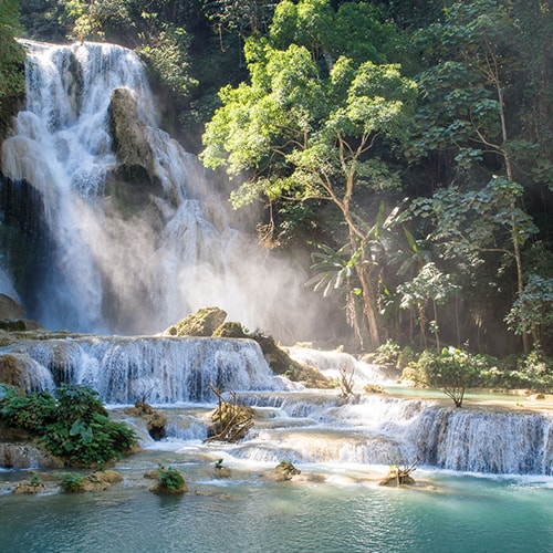 Khouangsi waterfall