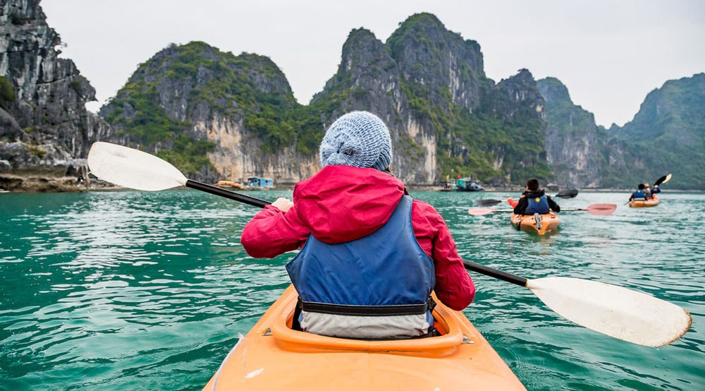 vietnam kayaking