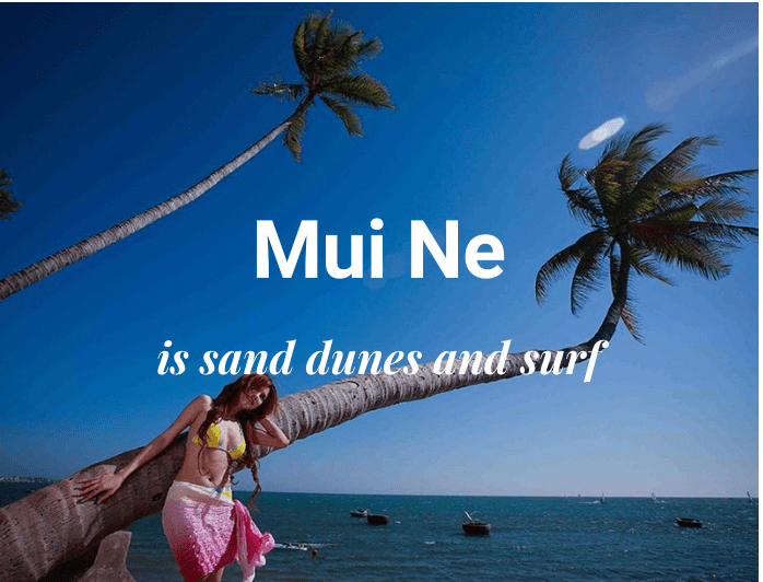 Travel To Mui Ne