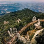 Golden bridge Da Nang