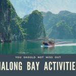 halong bay activities
