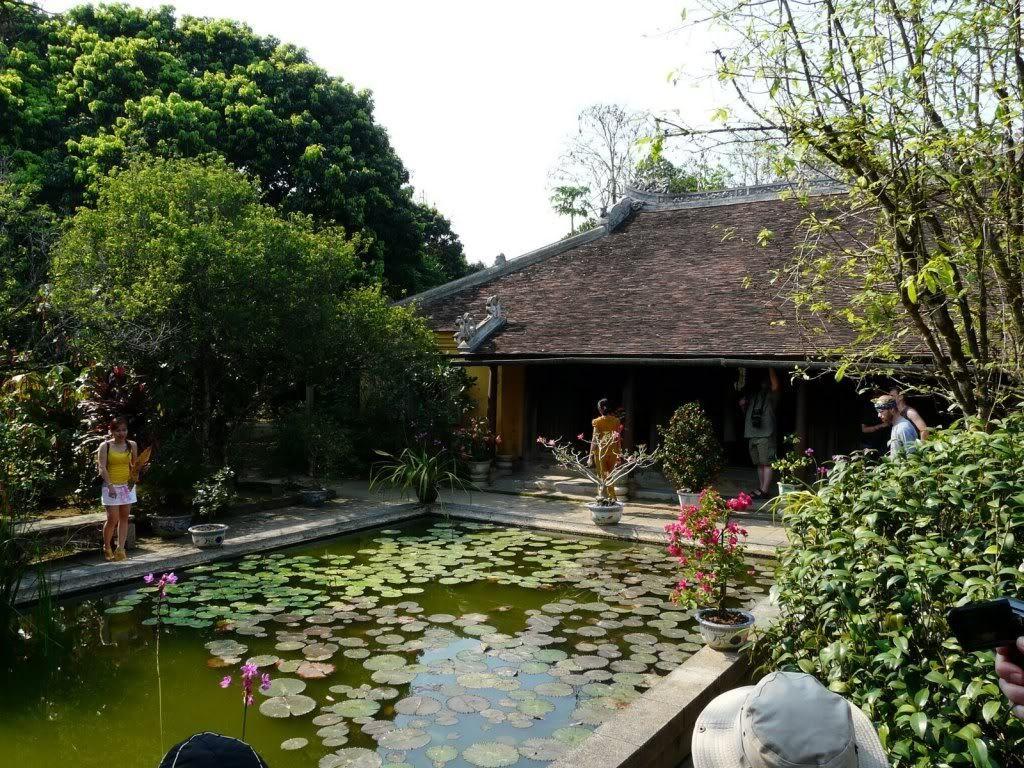 Y Thao garden restaurant, Hue