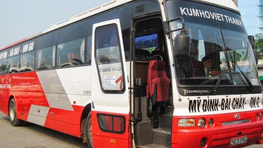bus to halong bay