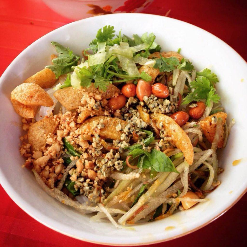 Mussels noodle