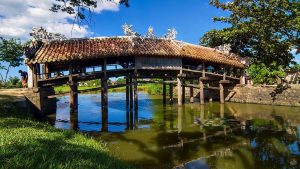 the history of Thanh Toan bridge