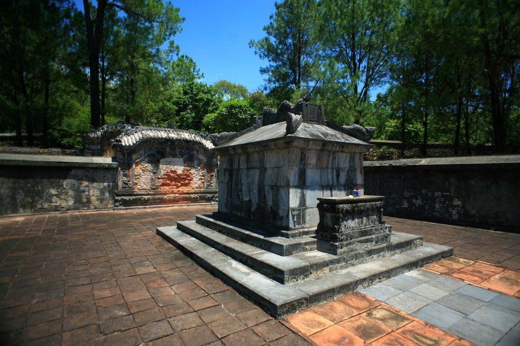 Tomb area
