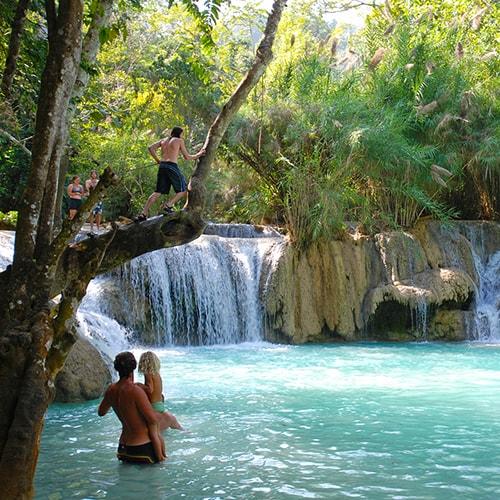Khouangsi waterfall
